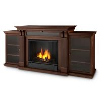 Shop Real Flame 67-in Gel Fuel Fireplace at Lowes.com
