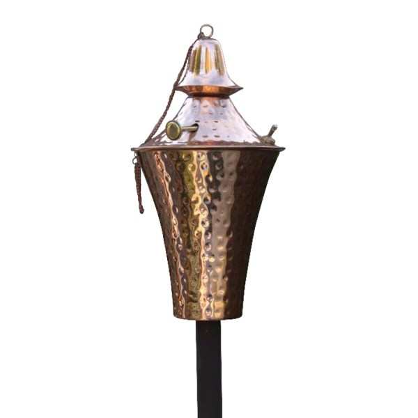 Outdoor Copper Tiki Torches