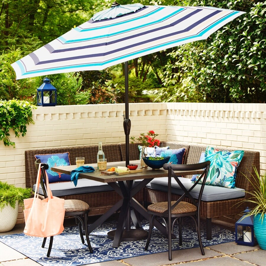allen roth chesterbrook 6 piece patio dining set