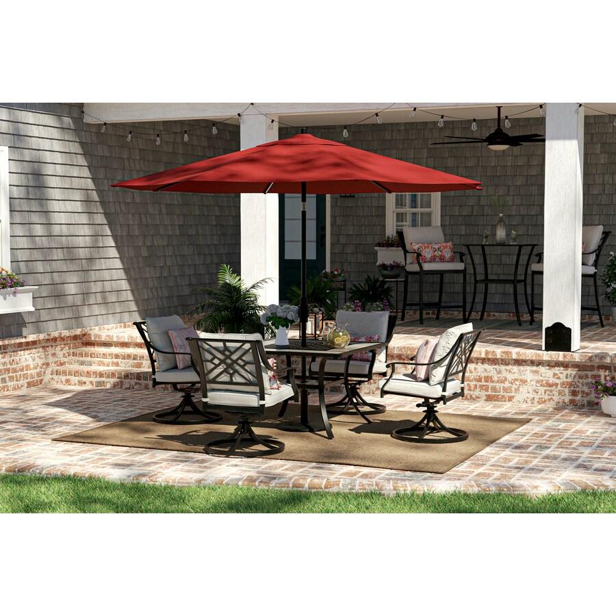 style selections elliot creek 5 piece patio dining set