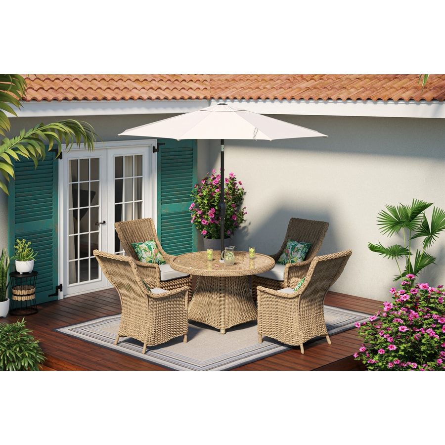 octagon patio dining sets at lowes com