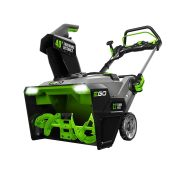 EGO POWER+ Peak Power 56-volt 21-in Single-stage Brushless Cordless Electric Snow Blower 7.5-Ah (Battery Included) | SNT2114