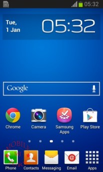 Home screen_Samsung Galaxy Star Pro