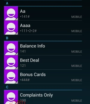 Contact list_Panasonic T21