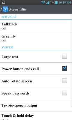enable greenify service for to improving battery backup