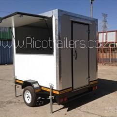 Kitchen Trailer 10x10 Remodel Cost Mobile For Sale Cheap Johannesburg Sa Food Vending Kiosk Standard Model Exterior