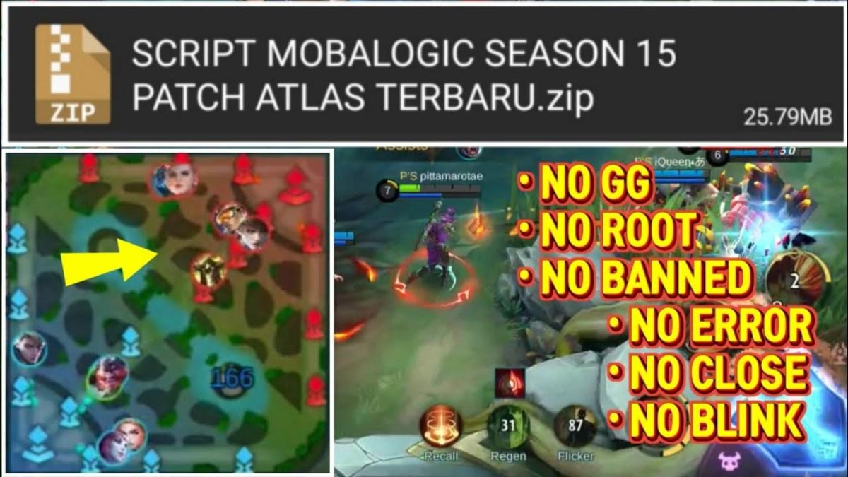 script radar map hack mobalogic terbaru   mobile legends bang bang