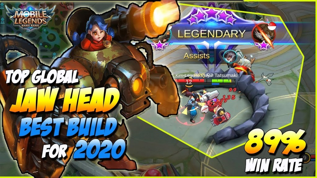 JAWHEAD BEST BUILD FOR 2020 GUIDE, EMBLEM & SPELL TOP GLOBAL GAMEPLAY | MOBILE LEGENDS BANG BANG