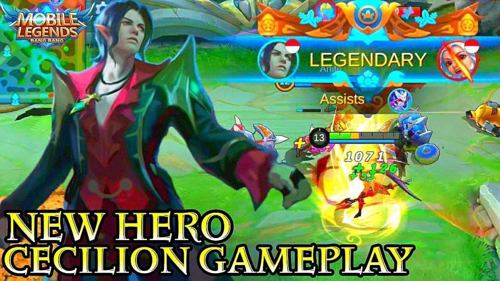 New Hero Cecilion Gameplay - Mobile Legends Bang Bang