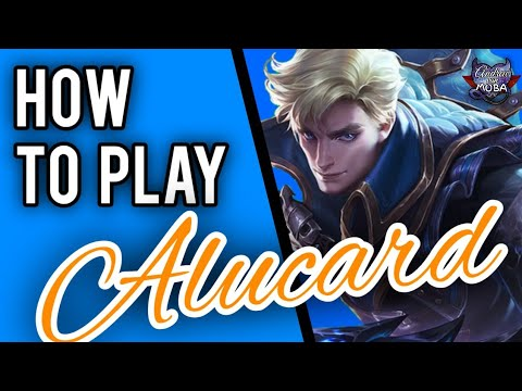 HOW TO USE ALUCARD    Mobile Legends✓