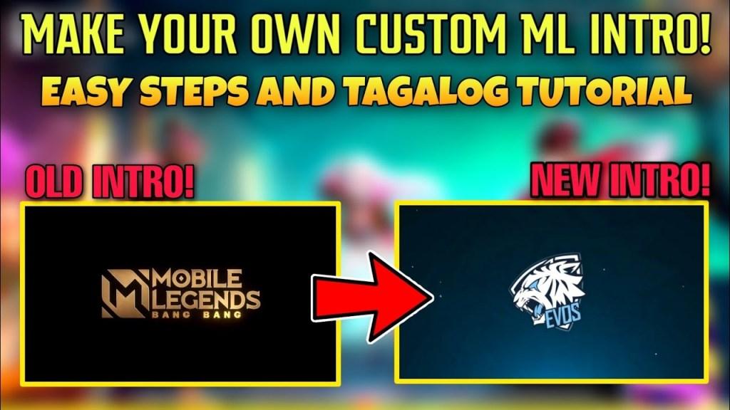 HOW MAKE YOUR OWN CUSTOM LOADING INTRO IN MOBILE LEGENDS | TAGALOG TUTORIAL | TIKTOK TRENDING VIDEO