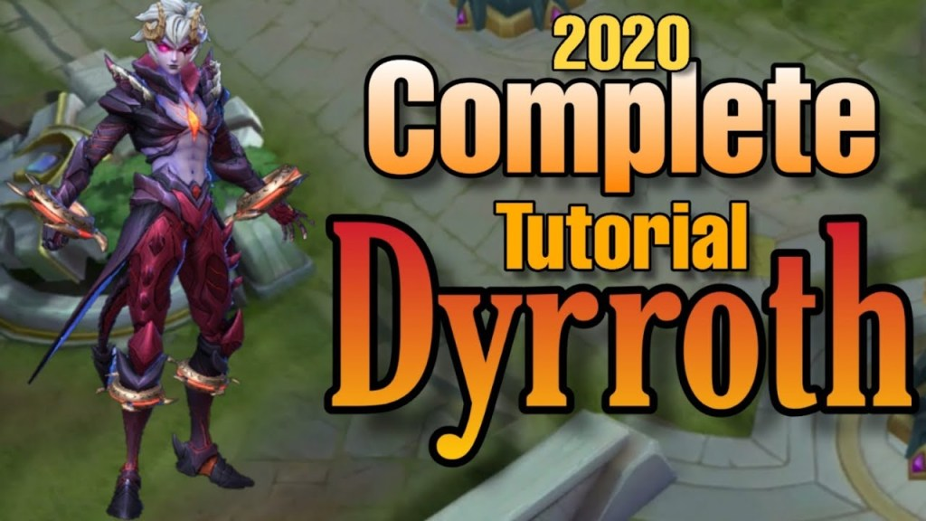 HOW TO USE Dyrroth 2020 FAST Tutorial