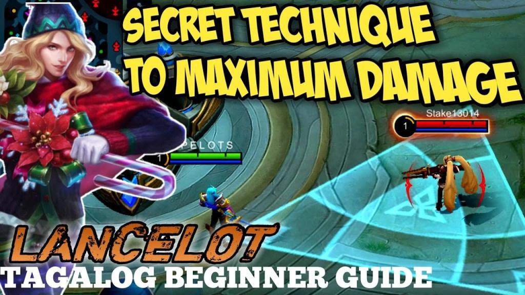 LANCELOT MOBILE LEGENDS GUIDE | DEAL MAX DAMAGE!! | BEGINNER TUTORIAL 2021