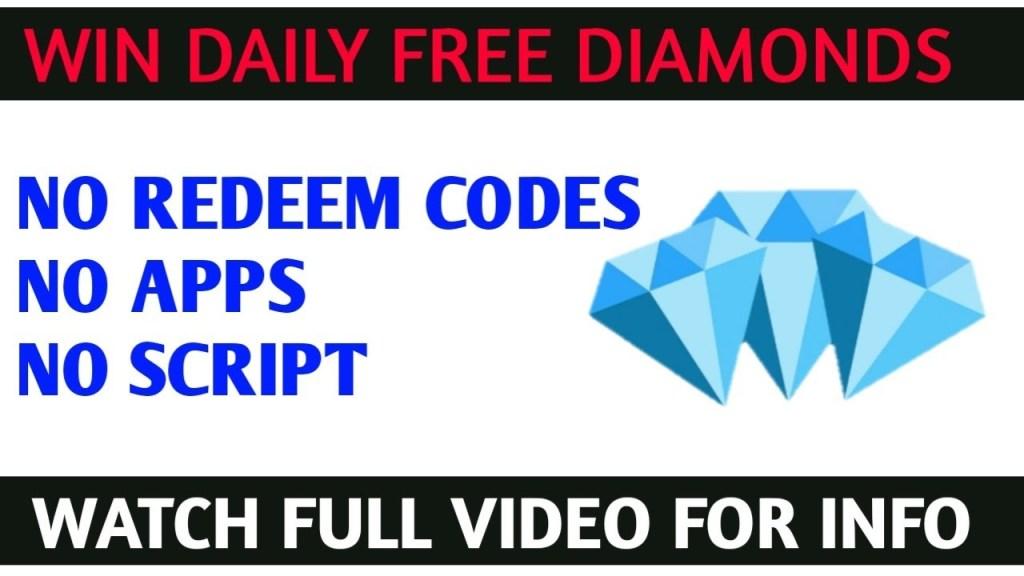 Win daily free diamonds || no script ,no hacks , no apps |#skylergaming