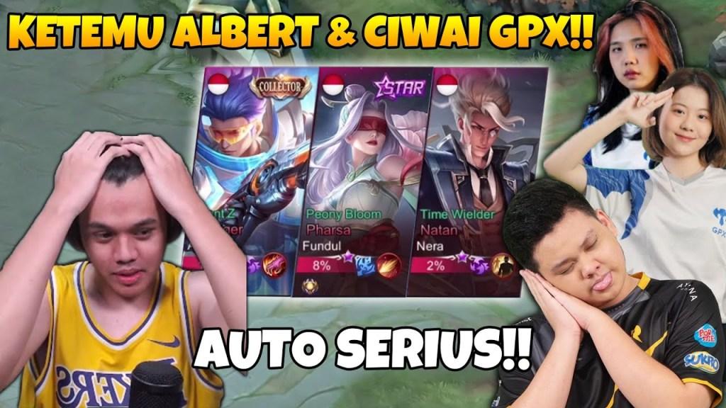 Ketemu ALBERT & GPX LEDIES!! PERTARUNGAN HARGA DIRI COY!! - Mobile Legends