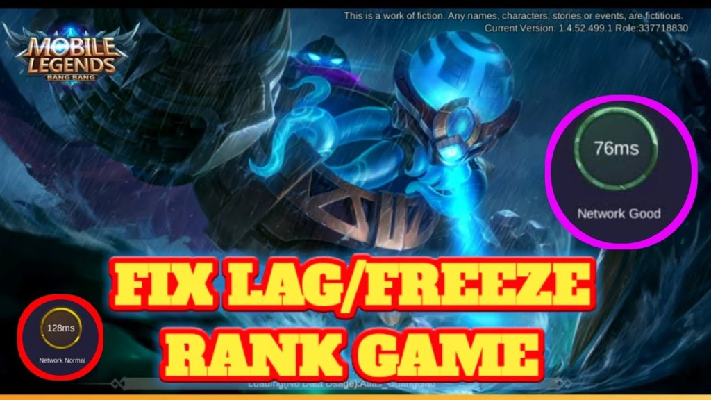 Reduce Lag | Freeze in Mobile Legends UPDATE MARCH 20 2020