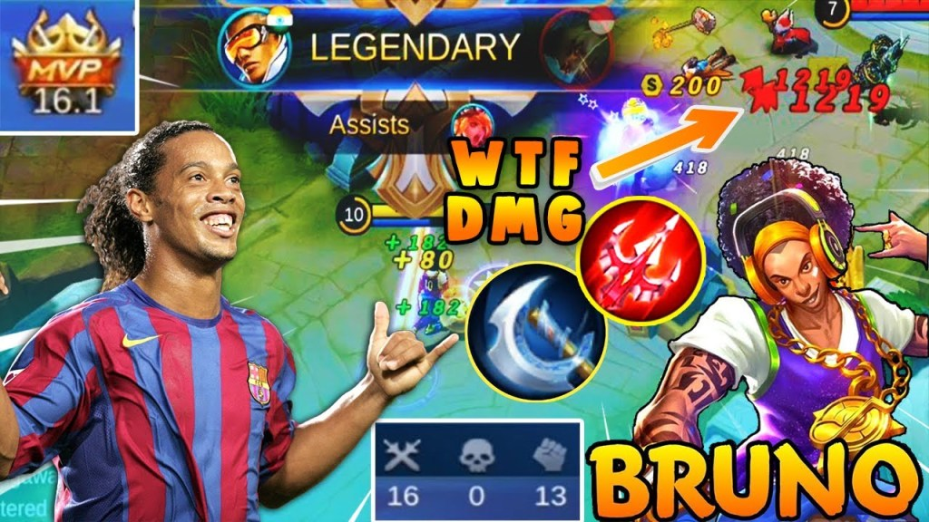 Bruno 100% Broken 🔥 | Bruno Best build 2020 | Bruno tips and tricks 2020 | Mobile legends