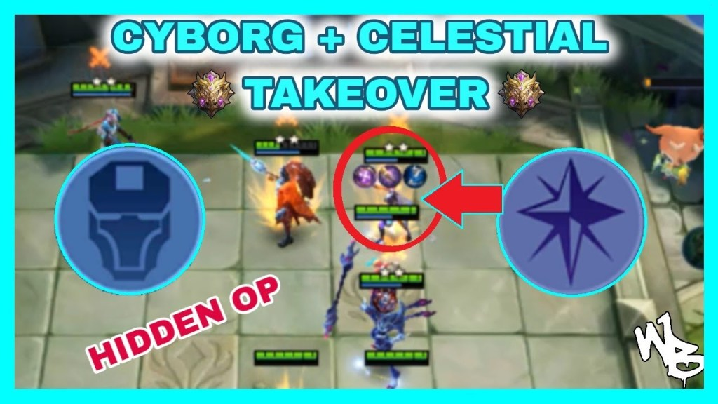 CYBORG + CELESTIAL COMBO SYNERGY | MAGIC CHESS BEST STRATEGY - Mobile Legends Bang Bang