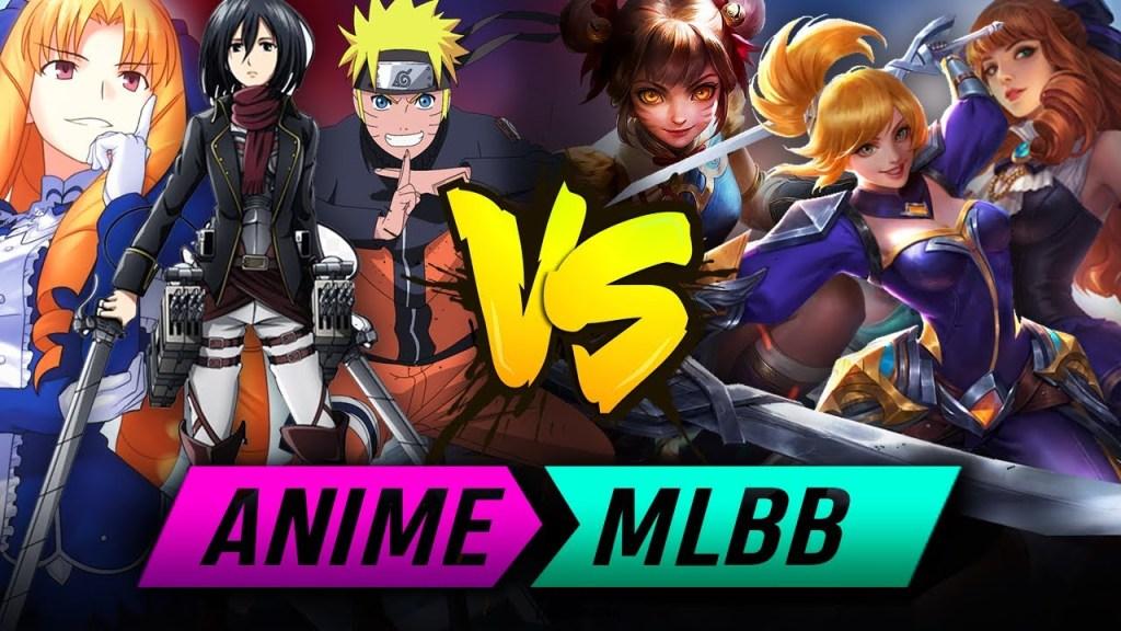 Mobile Legends Heros Vs Anime Character | MLBB VS ANIME |-