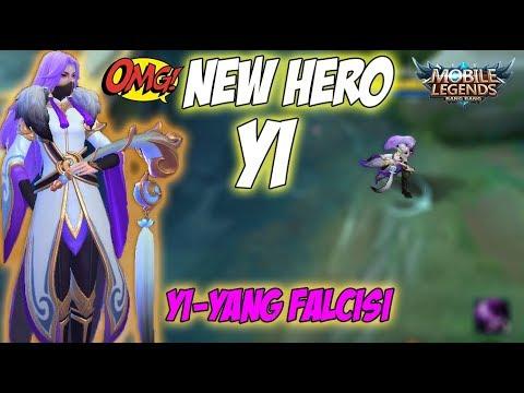 NEW HERO   Yi - YIN-YANG FALCISI   MOBILE LEGENDS
