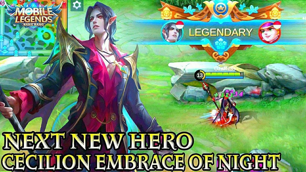 Next New Hero Cecilion Gameplay - Mobile Legends Bang Bang