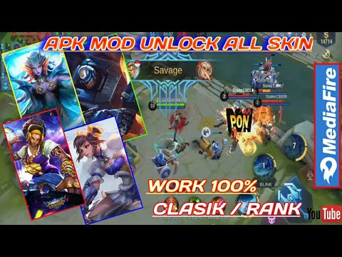 APK UNLOCK ALL SKIN - Pats Atlas Work 100% | Apk Mobile Legend Terbaru 2020, No Detect/Anti Banned