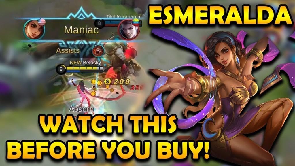 Watch This Before Buying Esmeralda! | Mobile Legends Bang Bang