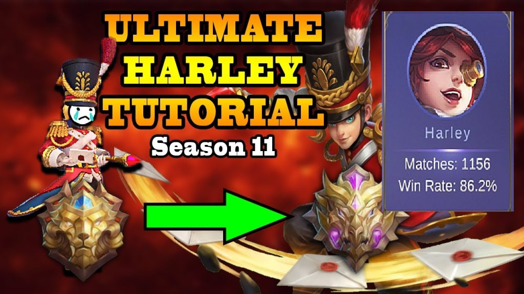 You Will Become A Beast Harley After This Tutorial! (Sub On) | Mobile Legends Bang Bang