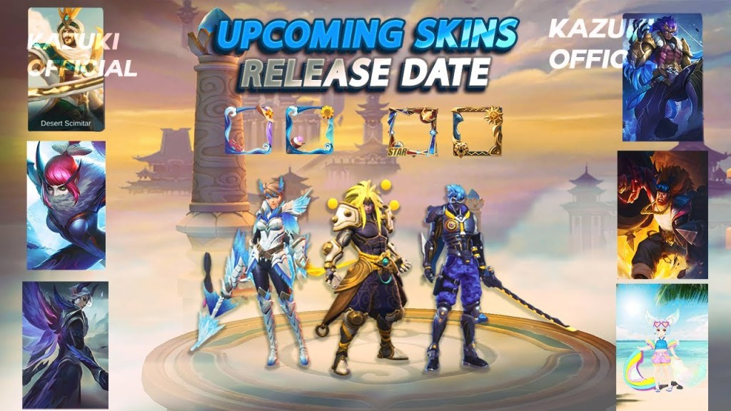 All Upcoming Skins of July 2020 | Release Dates Revealed |  Mobile Legends Bang Bang  |-