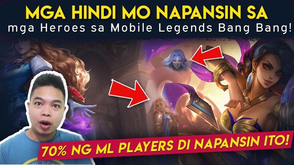 Dapat Mong Makita sa Heroes sa Mobile Legends