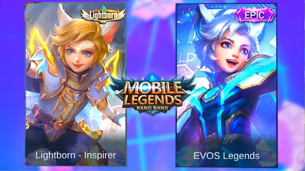 Harith | Evos Legends Skin VS Lightborn-Inspirer Skin | Mobile Legends: Bang Bang
