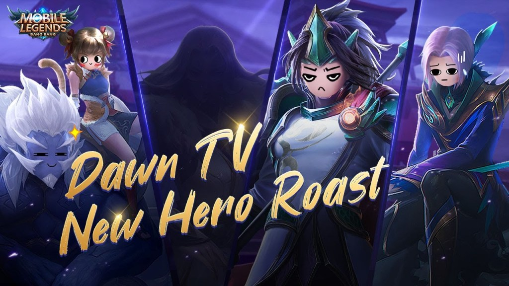 Oriental Fighters Roast New Hero?!| Dawn TV| Mobile Legends: Bang Bang