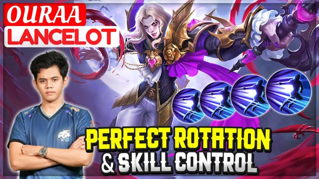 Perfect Rotation & Skill Control [ Oura Lancelot ] OURAA - Mobile Legends