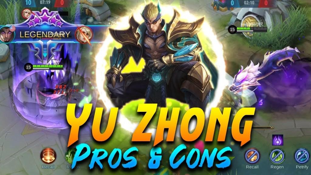 Yu Zhong Analysis, PROS & CONS of YU ZHONG | Mobile Legends Bang Bang