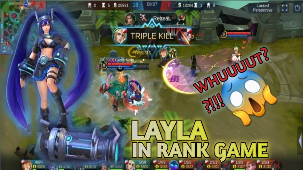 LAYLA IN RANK GAME | Mobile Legends: Bang Bang