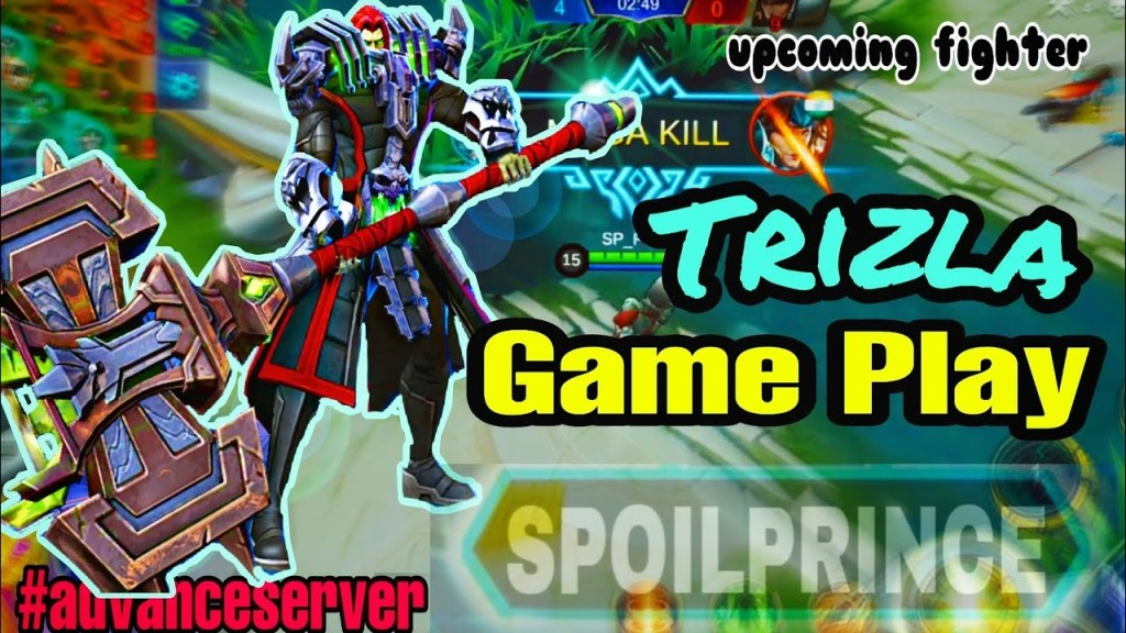 TRIZLA: UPCOMING FIGHTER|GAME PLAY|MOBILE LEGEND BANG BANG
