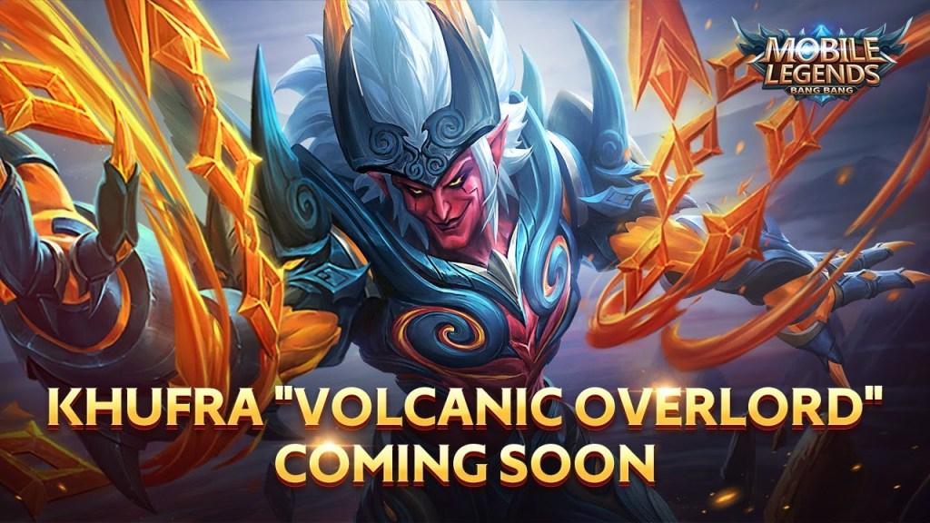 KHUFRA New Epic Skin | VOLCANIC OVERLORD | Mobile Legends: Bang Bang