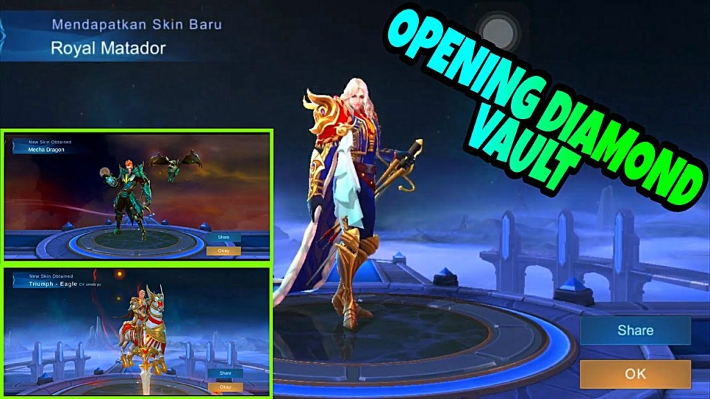 Opening Diamond Vault Mobile Legends: BANG BANG