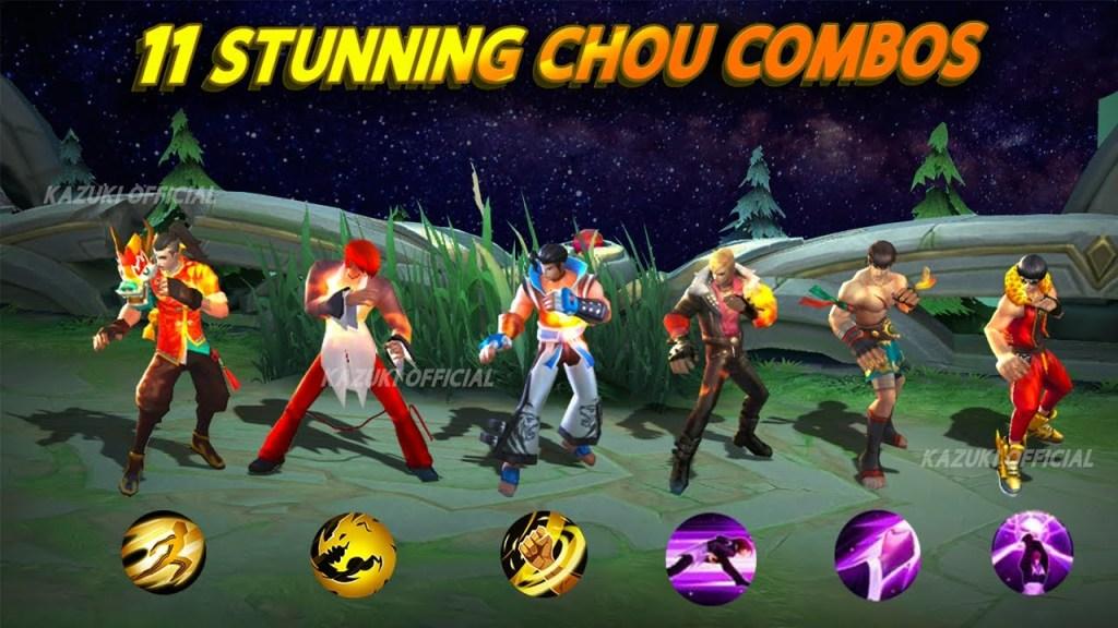Secret Chou Combos You Should  Know | Chou Kicks Complete Tutorial | Mobile Legends Bang Bang |-