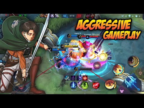 20 KILLS IN 10 MINUTES ! AGGRESSIVE FANNY GAMEPLAY ! - Mobile Legends Bang Bang