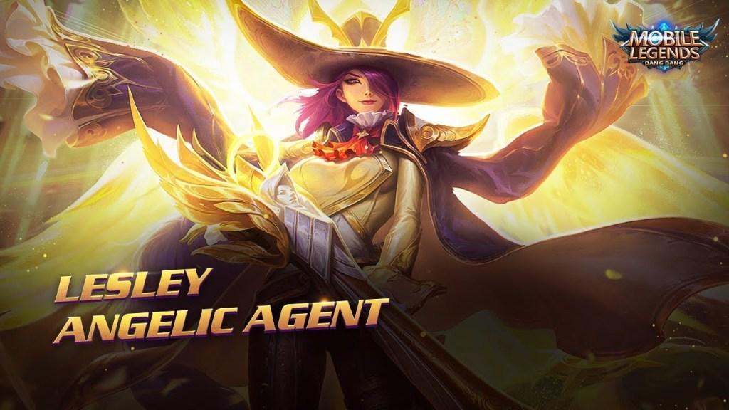 Lesley's New Skin | Angelic Agent | Mobile Legends:Bang Bang!