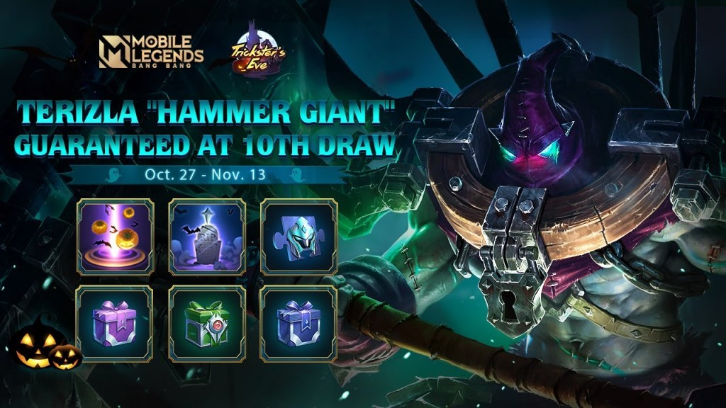TERIZLA New Skin | HAMMER GIANT | Mobile Legends: Bang Bang