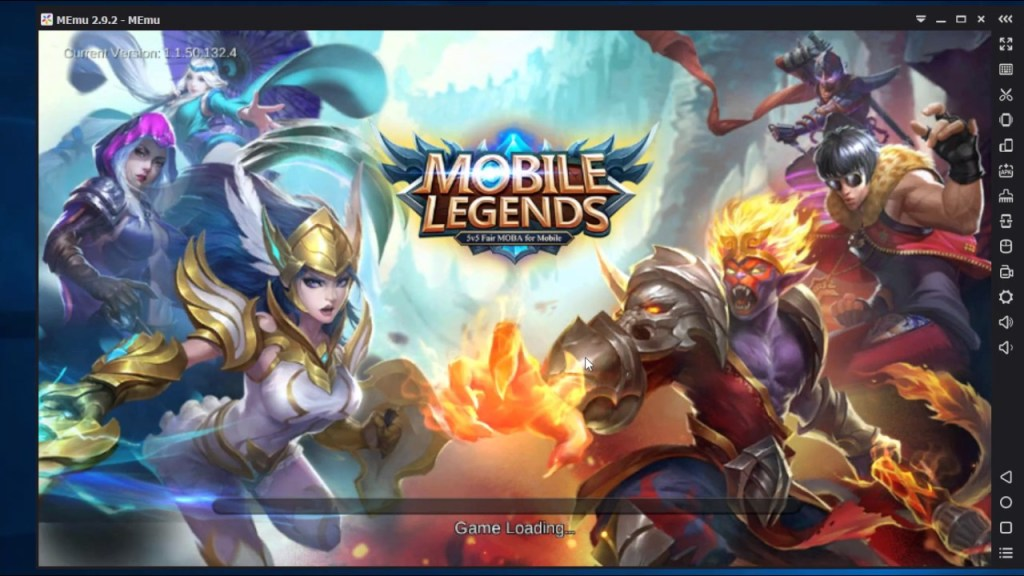 How to Install Mobile Legends: Bang bang Apk on Memu Android Emulator For Pc