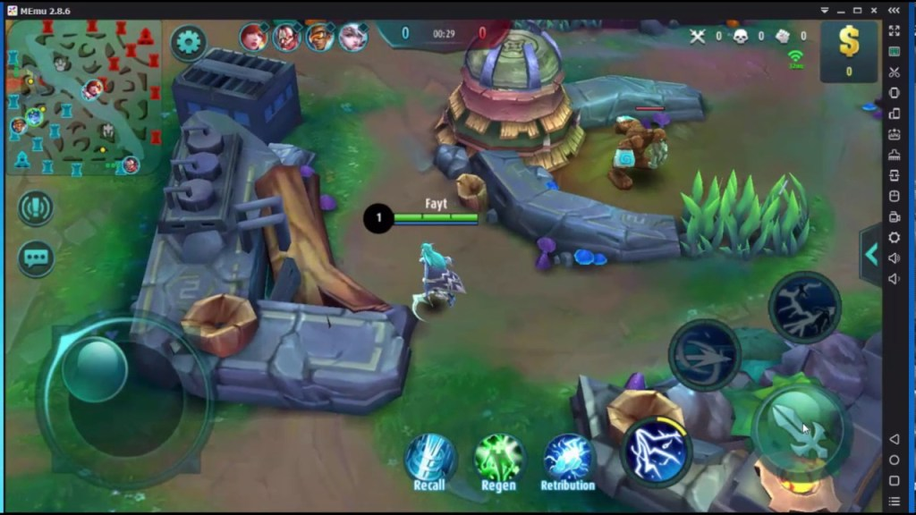 How to Play Mobile Legends: Bang bang on Pc Keyboard Mouse Mapping with Memu Android Emulator
