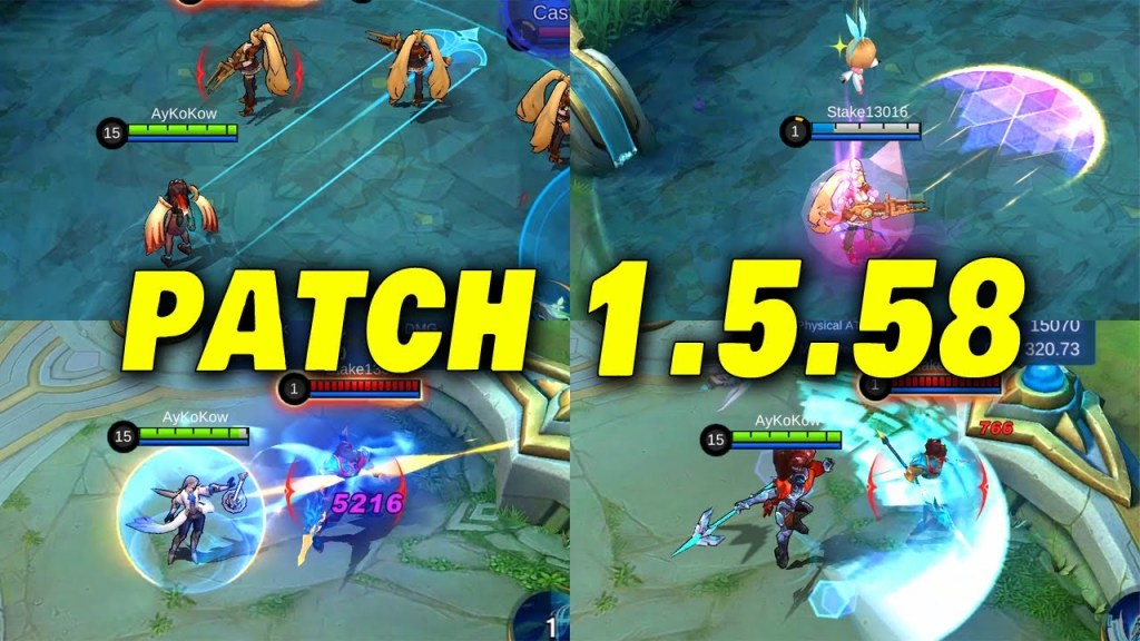 New Patch 1.5.58 | MLBB New Update 2021 | Mobile Legends: Bang Bang