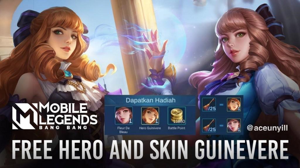 New Event Free Hero & Free Skin Mobile legends bang bang   October 2020