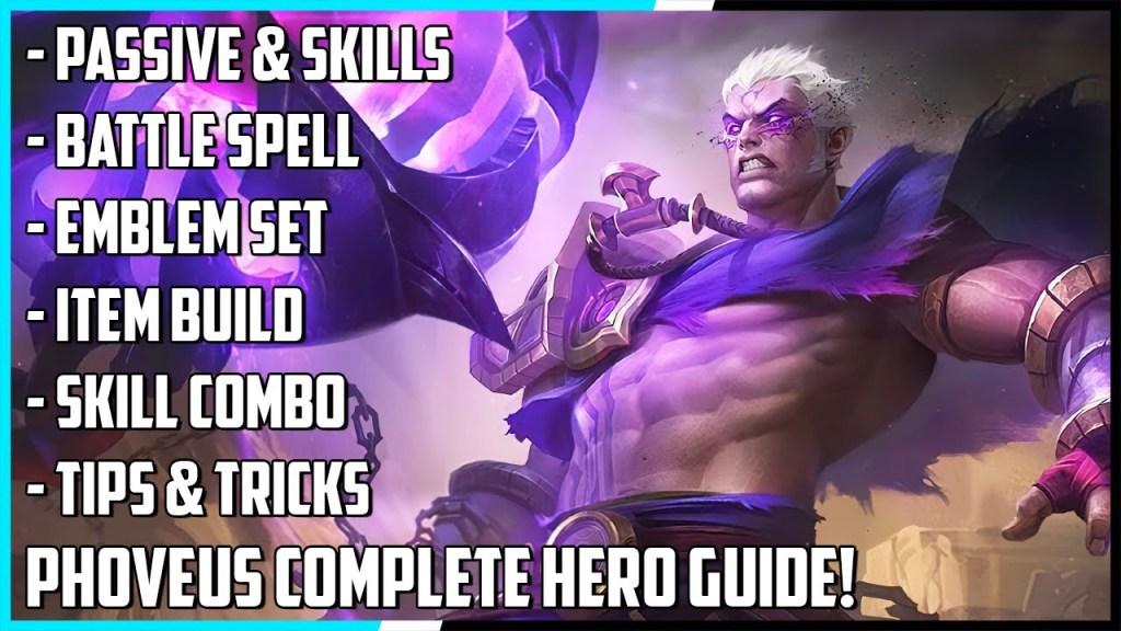 New Hero Phoveus Complete Hero Guide! Best Build, Skill Combo, Tips & Tricks | Mobile Legends