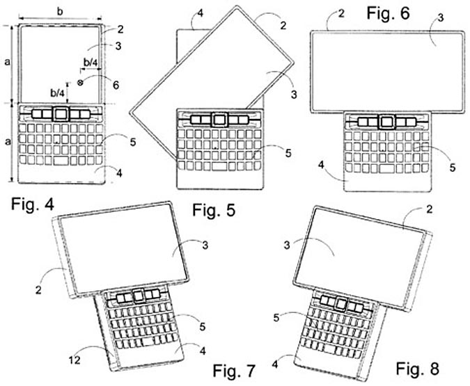 Patent Reveals Nokia QWERTY Smartphone with Rotating