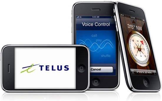 iphonetelus  Apple iPhone 3GS Coming to Telus This Fall?