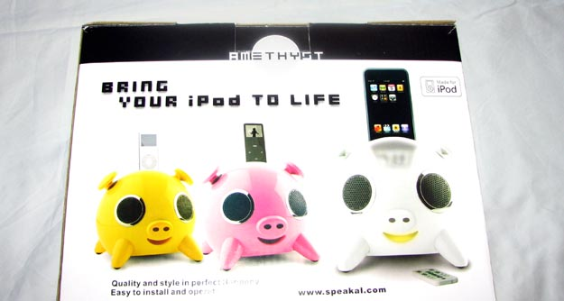ipig-1 REVIEW - Speakal iPig iPod Speaker Dock